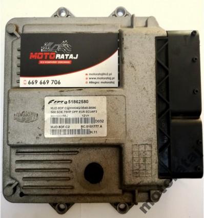 KOMPUTER FIAT 500 1.3 JTD 51862580 MJD8DF.C2
